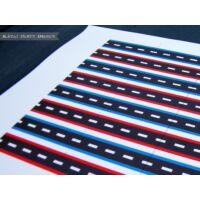 Zászló szívószálra - Autó