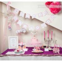 Happy Birthday! girland - Balerina