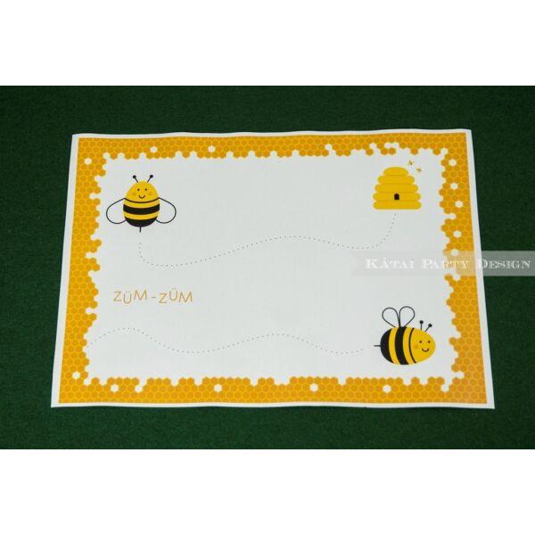 Tányéralátét - Méhecske