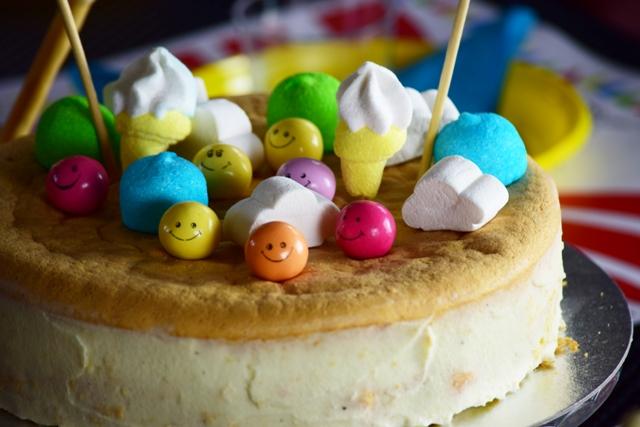 Cirkusz party_torta