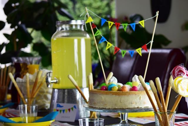 Cirkusz party_szülinapo torta