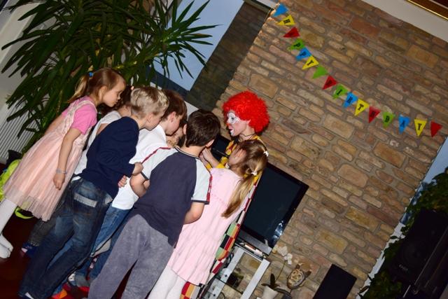 Cirkusz party_Galagony bohóc