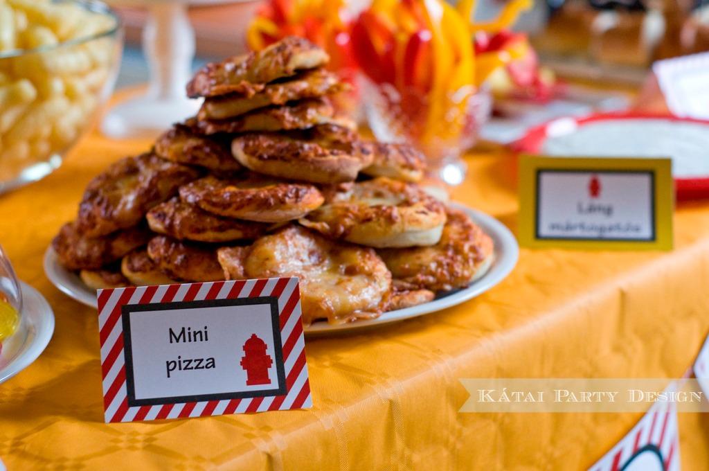 Tűzoltó és Kalóz Party-MiniPizza